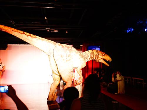 ナンジャタウンの恐竜ライブショー「マジカルダイナソー」に行ってきた