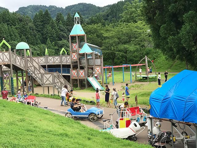 宿泊もできる!遊びが盛りだくさんの新潟県立こども自然王国