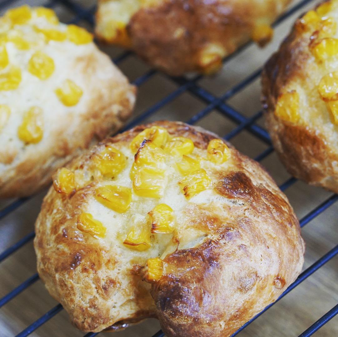 発酵時間なし!30分で焼き立てパンが作れるパンミックスが楽しいよ