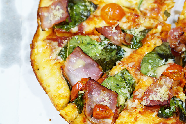 ドミノピザとOisixコラボのピザを食べてみたよ