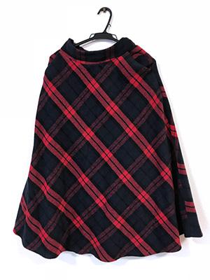 今季トレンドのチェック柄スカート、30代はこんな感じで着こなすよ
