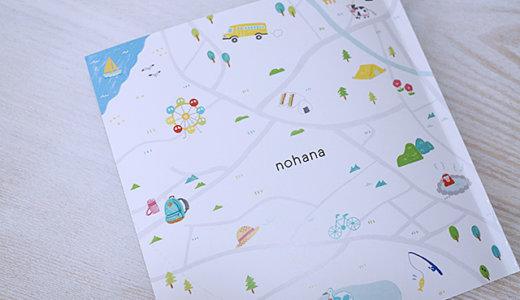 毎月フォトブックが無料で作れるノハナ。印刷がクオリティ高いよ!
