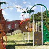 伊東 小室山公園は、恐竜がたくさん。キッズと楽しめるよ!