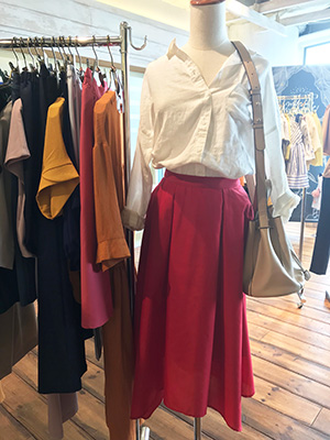 エディストクローゼットの服 これは着映えセットのスカート