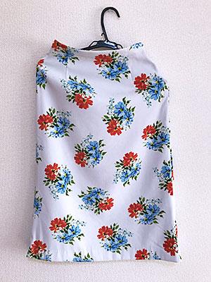 Rcawaiiで届いた服。MERCURYDUO スカート (白)