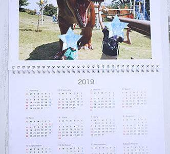 飾りたくなる仕上がり!マイブックライフで写真入りウォールカレンダーを作ってみた