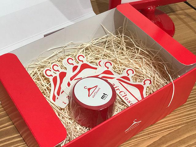 エアークローゼットの可愛い箱