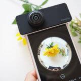 iPhone用の360度カメラレンズPanoClipで不思議な世界を撮ろう