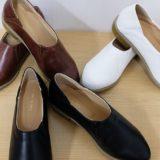 フェリシモ春の注目靴は、はまじとコラボのやわらかフラットシューティー