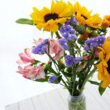 ボリューム感がすごい!ピュアフラワー お花の定期宅配をお試し
