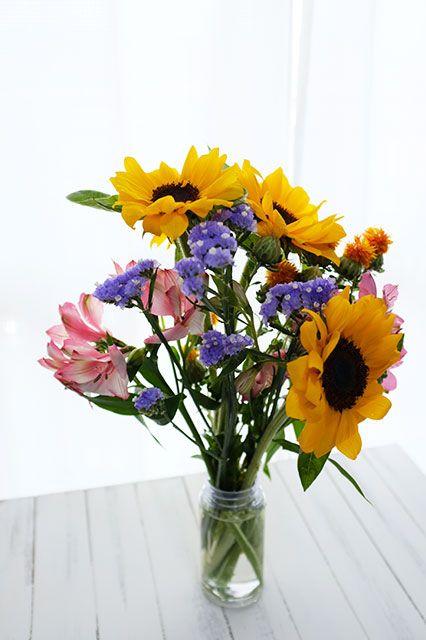 ピュアフラワーから届いたお花